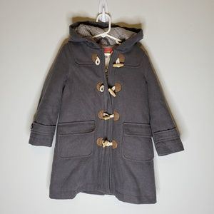 Mini Boden Wool Blend Pea Coat